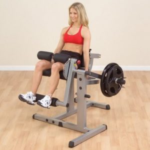 The Body Solid Leg Curl And Extension Fitness Equipment