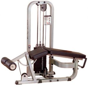 The Body Solid Pro Club Line Leg Curl Fitness Equipment