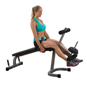 Powerline PLCE165X Leg Extension And Curl Fitness Equipment
