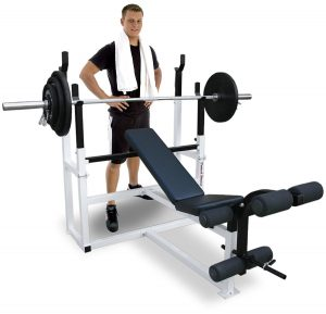 The Deltech Fitness Olympic Squat Fitness Equipment