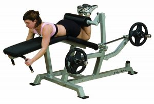 Body Solid LVLC Leverage Leg Curl Machine