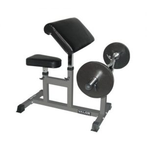 Valor Fitness CB-6 Adjustable Preacher Bench