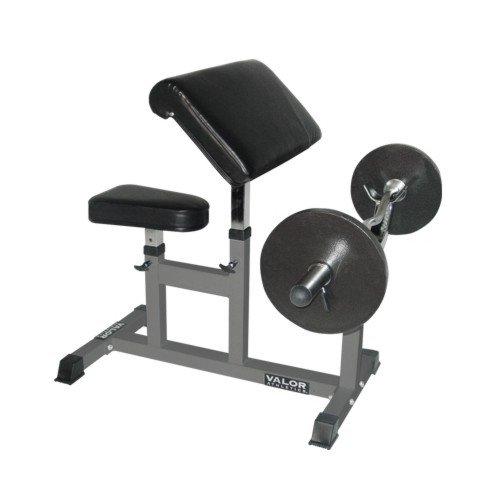 Valor Fitness CB-6 Adjustable Preacher Bench