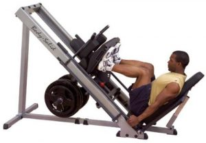 Body-Solid Hack Squat Leg Press