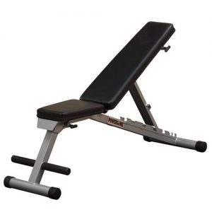 Body Solid Powerline Flat/Incline/Decline Folding Bench