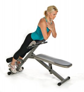 Stamina Hyperextension Machine
