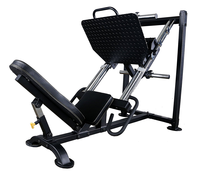 Powertec Fitness Leg Press, Black