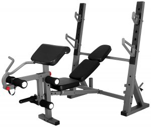 XMark International Olympic Weight Bench Press