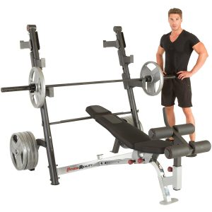 Fitness Reality Olympic Weight Bench Press