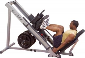 XMark Seated Leg Press and Hack Squat Machine