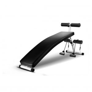 Fab fit Curved Adjustable Sit up Ab Bench