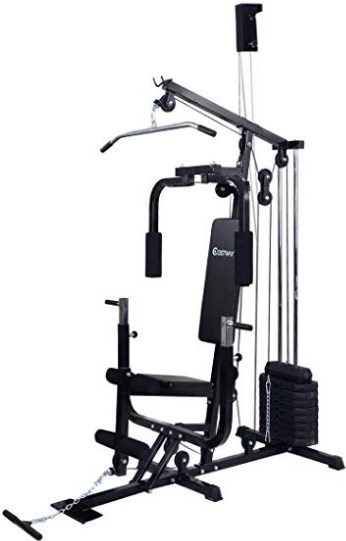 COSTWAY Home Gym Multifunction Fitness Station