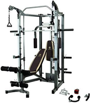 Marcy Smith Cage Machine with Workout Bench