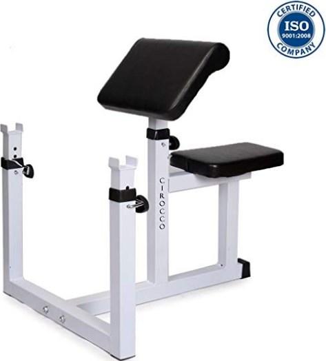 Schmidt Fitness Preacher Curl Weight Bench Press