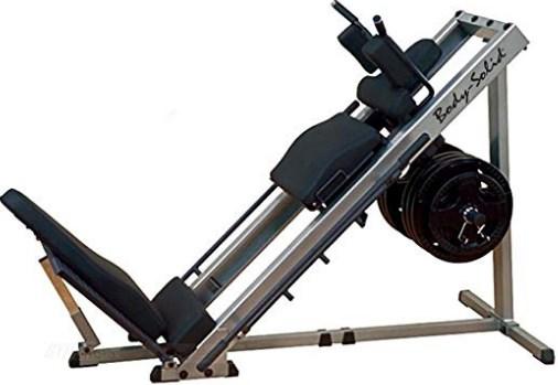 XMark Seated Leg Press Hack Squat Machine