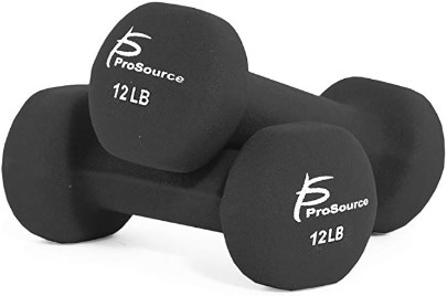 Prosource Fit Neoprene Dumbbell Coated Non-Slip Grip