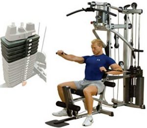 Body-Solid Powerline Home Gym (P2X) with Optional 50LB SELECTORIZED Weight Stack