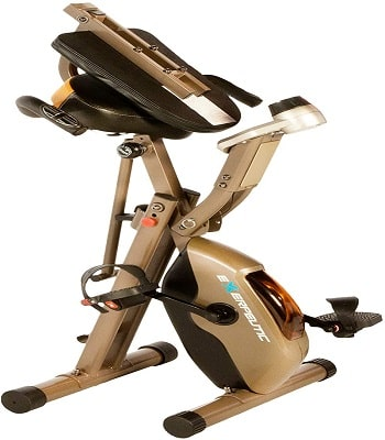 EXERPEUTIC 300SR Heavy Duty 300 LBS Weight Capacity Foldable Recumbent Bike