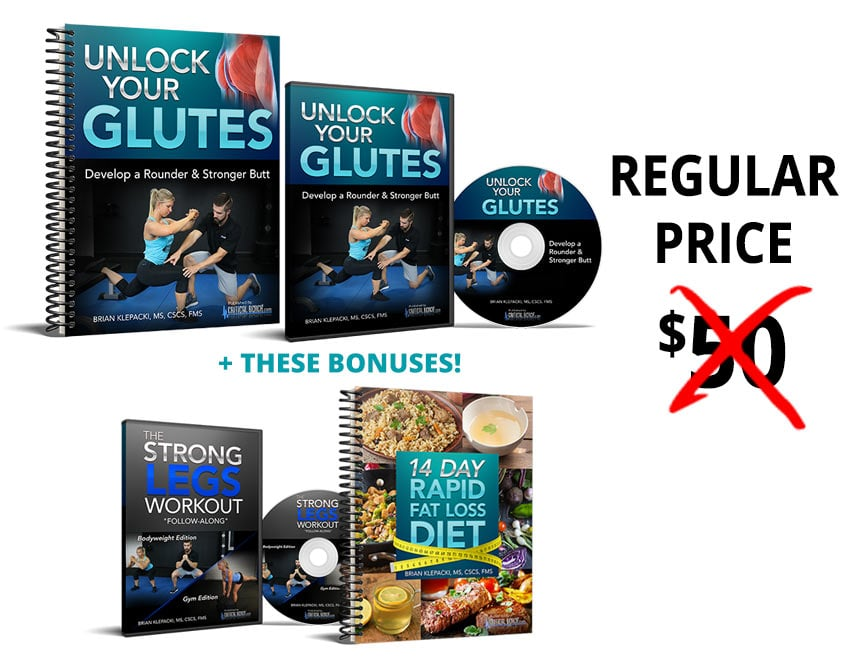Unlock your Glutes Discount Price