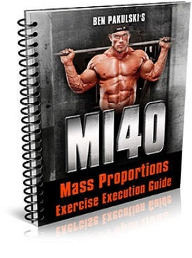 40-Day Mass Proportions Exercise Execution Guide