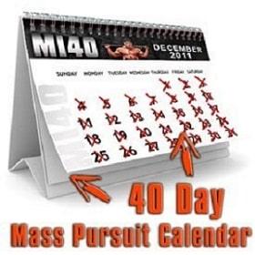 Mass Pursuit Calendar