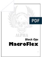 SpecForce Alpha PDF Workout