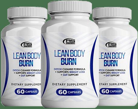 Lean body burn 60 capsules pack