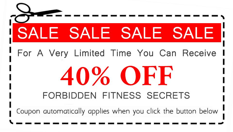 Forbidden Fitness Secrets 40% OFF Voucher